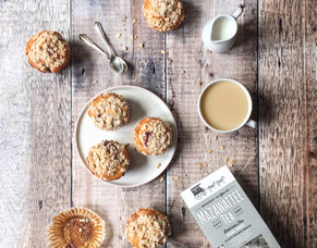 Earl Grey Blueberry Muffins